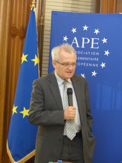Rainer Wieland, Vice President of the European Parliament and member of the APE